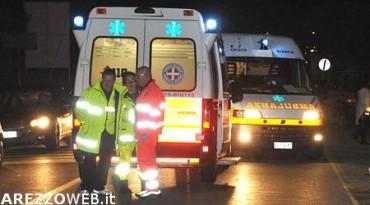Indicatore, scontro auto camion due le persone ferite
