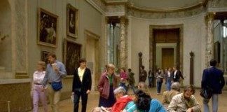 gente museo arte mostra