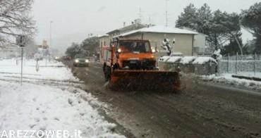 Toscana, Anas: obbligo di catene a bordo o pneumatici invernali sui tratti delle strade statali a rischio di precipitazioni nevose o formazione di ghiaccio