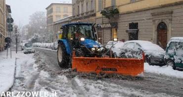 Arezzo, scatta il piano neve della Provincia
