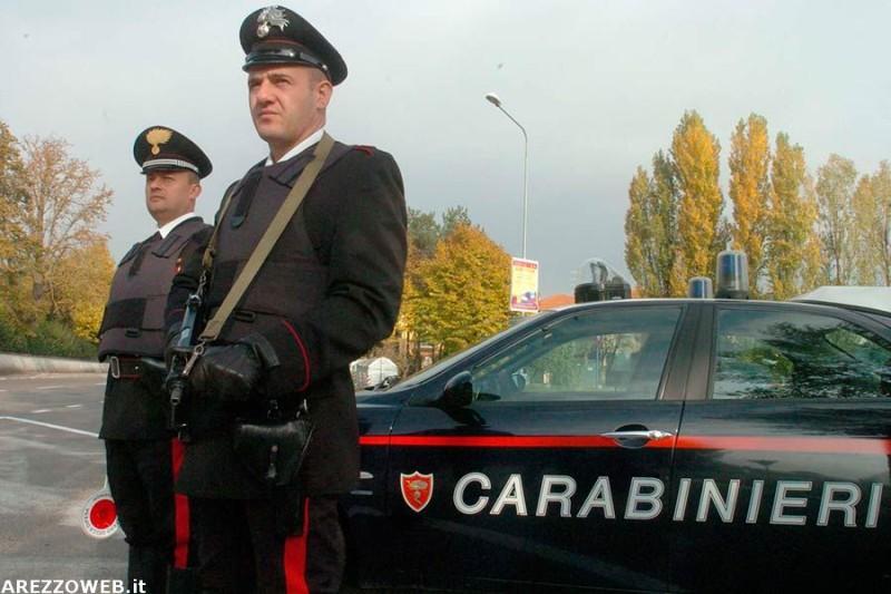 Arresti e denunce messe in atto dai Carabinieri