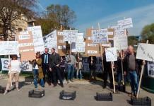 Protesta Commercianti