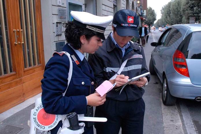 Polizia Mucipale Multa