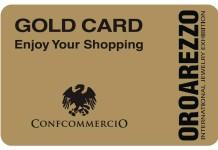 Gold Card OroArezzo