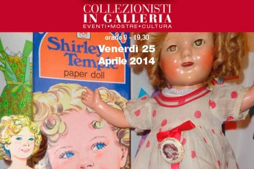 In Galleria Bruschi una mostra dedicata all'icona americana Shirley Temple