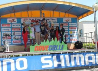 Novecolli 2014 - podio 200km