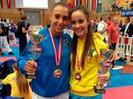 Arezzo Karate - Ilaria Badalotti a Salisburgo