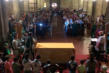Porta Sant'Andrea: Tanta gente al Te Deum di Porta Sant'Andrea