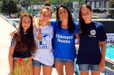 La Chimera Nuoto brilla ai Campionati Italiani con Bertelli e Fazzuoli