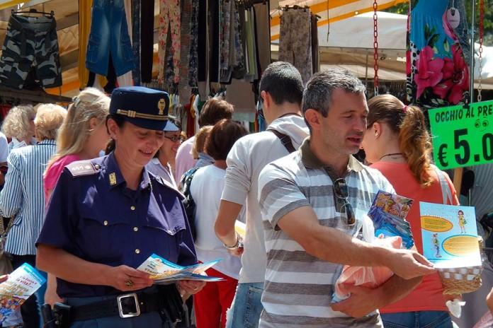 Mercato polizia - gori