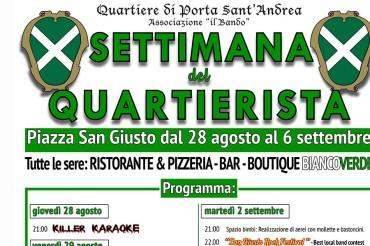 Quartiere di Porta Sant'Andrea: settimana del quartierista