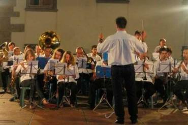 """Sabato 30 agosto ad Anghiari la 1° festa della Filarmonica """"P. Mascagni"""""""