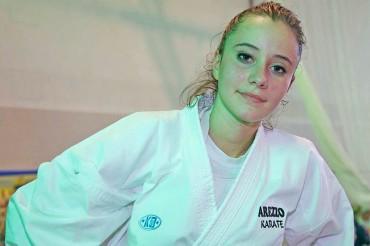 L'Arezzo Karate riparte con un argento internazionale