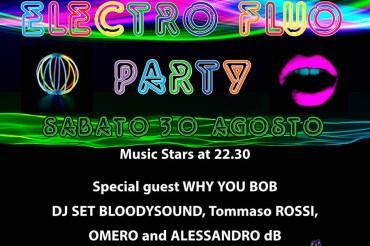 Fluo Party a Porta Sant'Andrea, Sabato 30 agosto la serata evento!