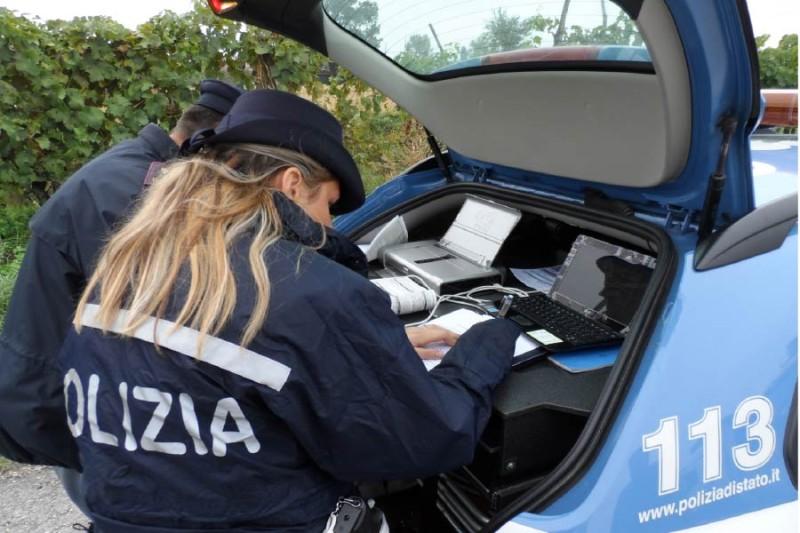 L'attività di controllo del territorio da parte della Polizia di Stato nella città di Arezzo