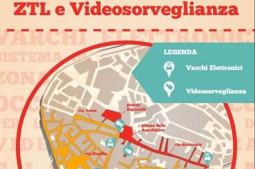 Dal 1 ottobre 2014 termina la fase di sperimentazione della ZTL (Gialla e Rossa) del Centro Storico di Cortona