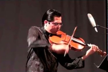 Grande attesa per il concerto del violista messicano Alejo a Capolona