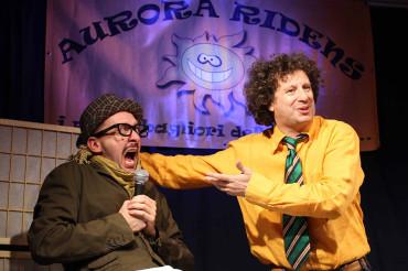 Aurora Ridens, risate da tutta Italia in attesa di Sos Cabaret