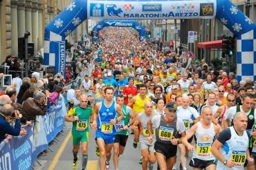 Fine settimana a tutta corsa, Maratonina città di Arezzo alla sedicesima edizione