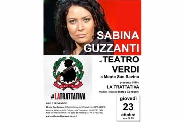 Sabina Guzzanti al Teatro Verdi di Monte San Savino