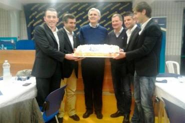 Il prestigioso Associato Marcello Nicchi festeggia i quattro promossi della sua Sezione
