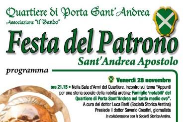 Festa di Sant'Andrea: festeggiamenti del Patrono