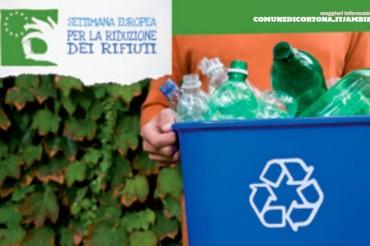 Settimana europea per la riduzione dei rifiuti dal 22 al 30 novembre 2014. Cortona aderisce e si mobilita
