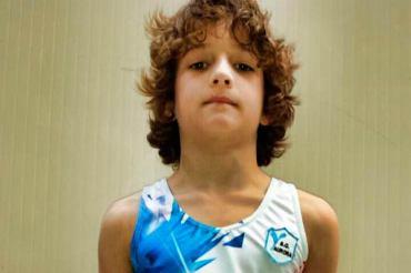 Tommaso Italiano partecipa alla finale nazionale del Campionato di Categoria di Ginnastica Artistica Maschile
