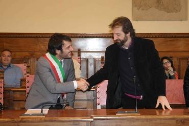 I coristi europei del SOL Project ricevuti in Comune ad Arezzo