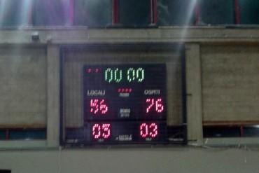 Centro Minibasket Prato – Scuola Basket Arezzo 56-76
