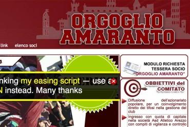 Orgoglio Amaranto: settimana decisiva per la ricapitalizzazione