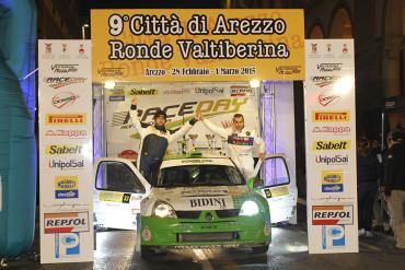 Francesco Bidini Vince la S1600 al Rally Città di Arezzo