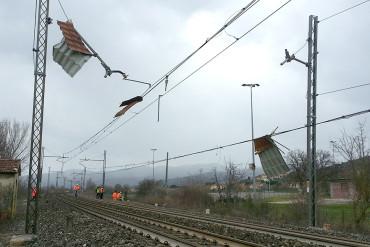RFI, maltempo Toscana: circolazione sospesa tra Castiglion Fiorentino e Terontola