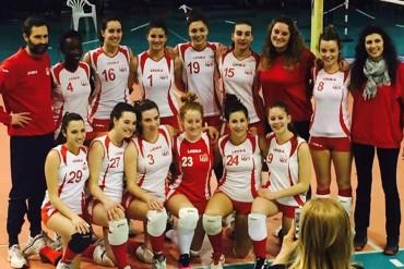 Al Palamaccagnolo le IUSSINE si impongono sul Volley 88, conquistandosi con determinazione il derby aretino