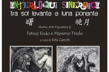 """Mostra di Arte Figurativa """"Interloqui Sinergici tra Sol Levante e Luna Ponente"""". Massimo Triolo e Tetsuji Endo in mostra ad Arezzo"""