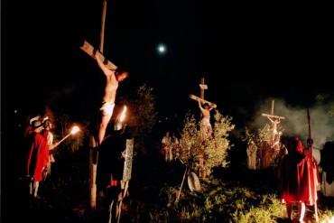 Torna ad Ossaia di Cortona la rievocazione della passione di Cristo