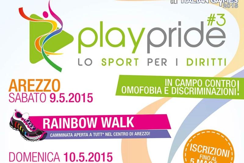 """l 9 e 10 maggio ad Arezzo torna """"Play Pride"""": in campo contro omofobia e discriminazioni"""