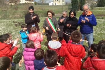 Montagnano, nuovo giochi al parco di Fontarronco, stamani l'inaugurazione