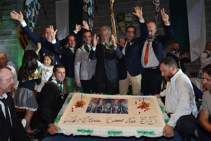 Porta Sant'Andrea: Oltre millecento quartieristi alla Cena della Vittoria! – FOTO