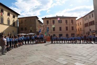 50 anni di scoutismo a Sansepolcro, grande successo per l'evento organizzato domenica 27 settembre