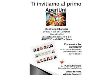 """AperiUni"" al campus universitario del Pionta"