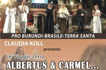 Claudia Koll: In viaggio verso Albertus & Carmel con Papa Francesco