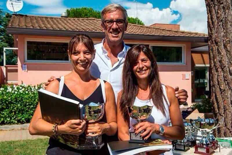 Il Ct Giotto festeggia i vincitori del torneo sociale