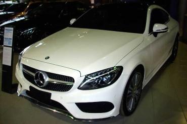Ecco la nuova C Coupè della Mercedes