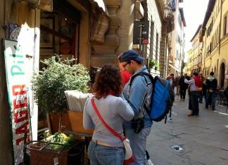 Cortona - turisti