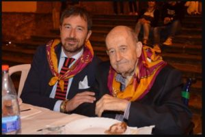 Roberto Felici con il padre Giancarlo (Foto Felici)