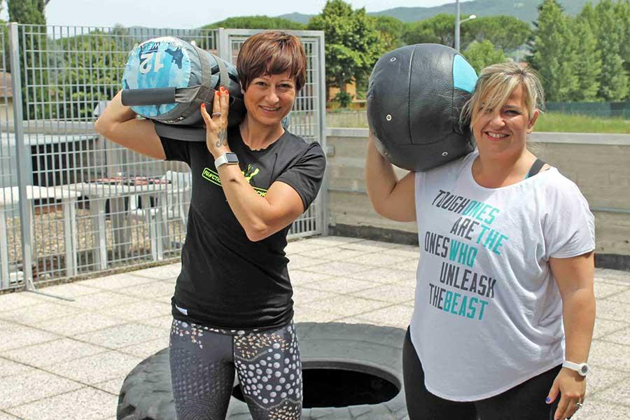 Elena Pazzagli e Irene Mecatti