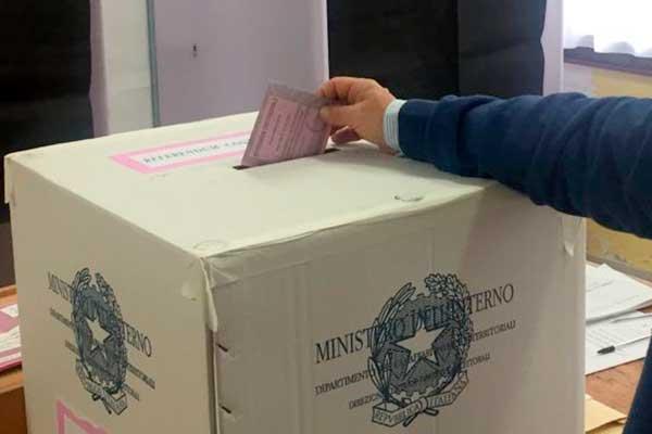 Referendum - scheda