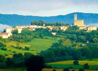 Arezzo colline