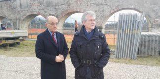 Sindaco Ghinelli e Pier Luigi Rossi